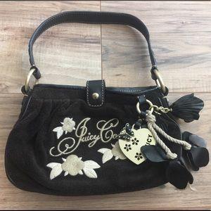 Juicy Couture Floral Charm Shoulder Bag